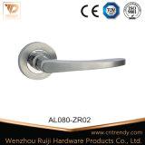 Herraje de muebles de zinc aluminio puertas y cerraduras, manijas de la palanca (z6080-ZR03)