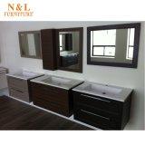 Gabinete de banheiro Home moderno da madeira contínua da mobília