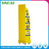 Suporte de monitor Floor-Type papel Rack exposições para as lojas especializadas