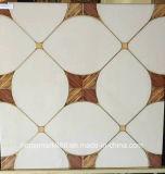 600x600мм полированный Золотой Crystal фарфора плитки пола