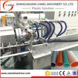 Máquina trenzada de la protuberancia del tubo del manguito espiral suave del PVC