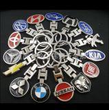Insignia del Keyring de Keychain del coche de la aleación del metal del emblema