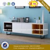 Armoire en bois moderne de verre aluminium / bureau de poste de travail Partition (HX-8N3006)