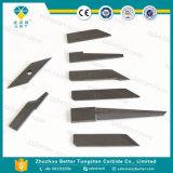 Cuchillo del cortador de Zund de la lámina del carburo de tungsteno