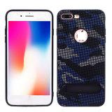 Het Geval van de Telefoon van de Huid van het Deeg van de Stof van de camouflage voor iPhone X