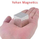 Cubo Mágico quebra-cabeças magnéticas Praça Metal Cube Fidget brinquedo. Qualidade de principal Escritório brinquedo de alívio de Stress para Adultos