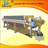 La plaque hydraulique et le châssis filtre presse pour la ville d'eaux usées brutes mélangées (eaux usées municipales)