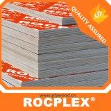 Contre-plaqué lustré de PVC de qualité, divers contre-plaqué stratifié coloré, contre-plaqué FSC de qualité