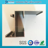 Puerta de aluminio modificada para requisitos particulares Liberia Liyba de la ventana del perfil de Champán