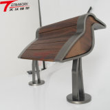 Grano di SLS/SLA del prototipo di legno di stampa 3D