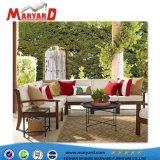제조에서 가정과 옥외 소파 가구를 위해 적당한 직물 소파 무대 디자인