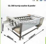 Pinsel-Rettich-Reinigung-und Schalen-Maschinen-Rübe-Waschmaschine