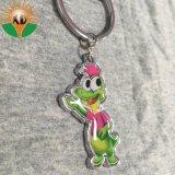 Venda por grosso de metais baratos cadeia de chaves personalizadas com anel de chave