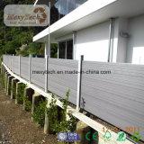 WPC madera compuesto plástico Zona de juegos pared de la cerca.