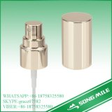 18/410 high-end em alumínio prateado com pulverizador de perfume sobre a PAC