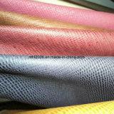 Cuoio sintetico del PVC del vinile del sacchetto del cuoio materiale materiale del tessuto