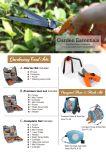 5 em 1 Conjunto de Ferramentas de jardim de jardinagem Mala Ferramentas Manuais