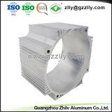 China la extrusión de aluminio anodizado plata para el disipador de calor