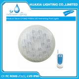 IP68는 54W PAR56 수중 램프 LED 수영풀 빛을 방수 처리한다