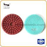 4 polegadas de discos de polimento de Concreto, almofada de polir Diamante