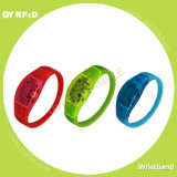 Wrs21 Wristband sin contacto, reloj de RFID con la luz del LED (GYRFID)