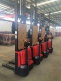 Штабелеукладчик Горяч-Сбывания 1600kg Китая электрический с Adjustble выковал вилки