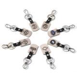 Keyrings de Audi Keychain de la marca de fábrica de la insignia del coche de metal