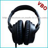 Giro quente da venda da fábrica sobre o ruído ativo estereofónico de alta fidelidade da orelha que cancela o auscultadores sem fio