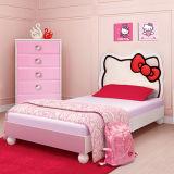 분홍색 여보세요 공동 자금 아이들 침실 가구는 2017 가장 새로운 목제 침실 놓았다 (품목 No#159)를