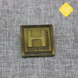 Distintivo su ordinazione di Pin di nome dello smalto del metallo di buona qualità