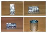 4 Stücke galvanisierten Briefpapier-gesetzten Datei-Halter