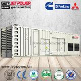 generatore diesel resistente insonorizzato di grande potere 1000kVA