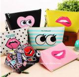 Bunter Handtasche PU-kosmetischer Beutel für Arbeitswegform Handtaschen mit großer Fähigkeit für Damen
