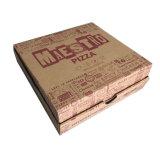 10/12/14/16 polegadas de tamanho personalizado de papel de logotipo caixa de pizza