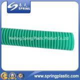 Boyau transparent clair de débit de tuyauterie souple de vidange de l'eau de boyau d'aspiration de PVC
