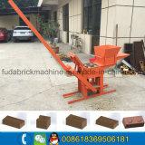 Kleine mini manuelle Lehm-Ziegelstein-Maschine für Familie