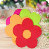 Colorful Felt Sewing Coasters for Cups & Decorations