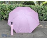 Parapluie Shaped ouvert personnalisé de Deco de bouteille de vin de Manul d'impression pour promotionnel