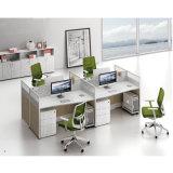 파일 서랍 사무용 컴퓨터 책상을%s 가진 주문을 받아서 만들어진 사무실 워크 스테이션