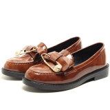 새로운 디자인 Shoes 편평한 옥스포드 게으름뱅이 숙녀