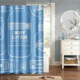 Mayorista de alta calidad nuevo diseño personalizado de PVC cortinas de ducha