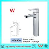 Robinet en laiton de bassin de traitement de filigrane d'économie simple de l'eau (HD4900)