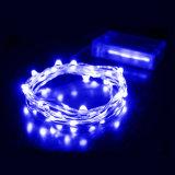 Batería de LED de alambre de cobre de la luz de la cadena Christams
