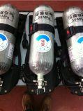 消防士装置の圧縮空気の呼吸装置