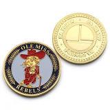 Chapado en oro de metal personalizados mejor Departamento de Justicia reto Coin