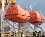 bote salvavidas incluido de la caída libre de la prueba de fuego de los 4.9m