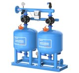 Single-Chamber 6 '' Sand-Media-Filtration-System