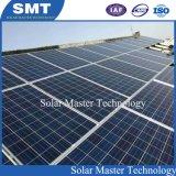 Il nuovo comitato solare di successo monta il tetto del metallo