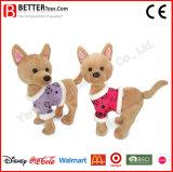 En71 견면 벨벳 아이들 아이를 위한 동물에 의하여 채워지는 Chihuahua 개 연약한 강아지 장난감