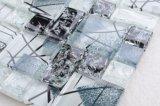 Precios baratos de estilo Europea la grieta de hielo de la pared de azulejos de mosaico de vidrio